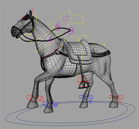 Horse Photoreal with Rig