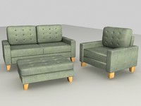suite furniture 3d model