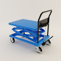 3d model lifting table