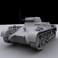 3d panzer 1a model