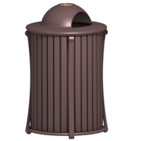 city trash receptacle 3d max