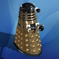 3ds max toy dalek