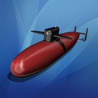 toy submarine 3ds