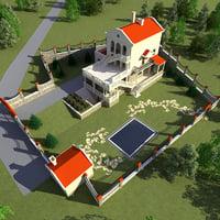 villa v14 3d model