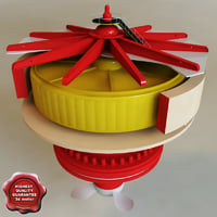 3d hydroelectric power generator v1 model