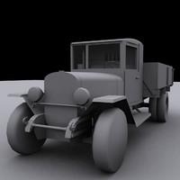 truck zis5v 3d max