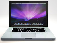 3d apple macbook pro led model