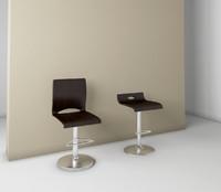 action-p-sg bar chair 3d model