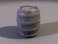 3d barrel games