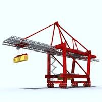 3ds cargo crane