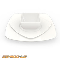 plate bowl 3d max