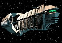 Heavy Space Cruiser