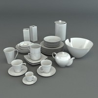 Porcelain tableware set