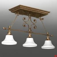 3d lamp hanging