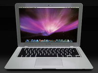 apple macbook air mini 3d model