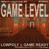 Lowpoly castle level - md_c_level02.rar