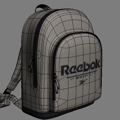 reebok bag 3d model - Reebok bag... by coboide