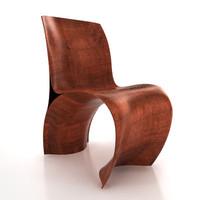 3d skin chair