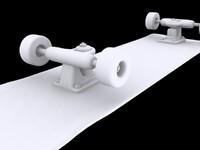 3d skate skateboard