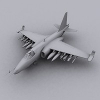 su25 frogfoot 3d model