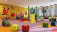 kids play area 3d max