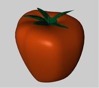vegetable tomato 3d model