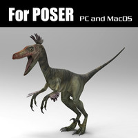 poser lo velociraptor