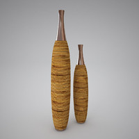 3d model decorative vases