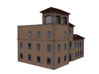 Pleasant Brown Vatican Building for Game