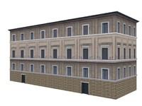 3d classy rome vatican apartments model