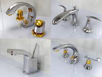 realistic aquabrass 3d 3ds