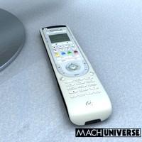 3d logitech harmony remote control model
