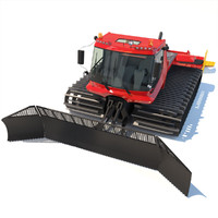 3d model snowcat pistenbully 600