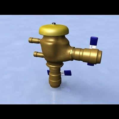 3d Model Pressure Vacuum Breaker