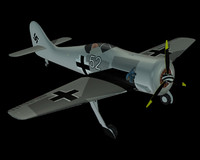 Focke Wulf FW 190 (landed without pilot)