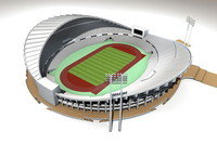 3d model rajamangala stadium