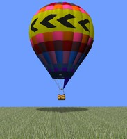 hot air balloon pz3