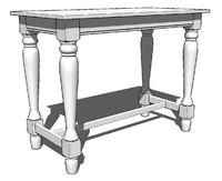 Spindel Leg Pub Table