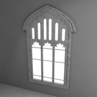 3ds max gothic window
