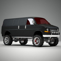 LIfted 4x4 Van