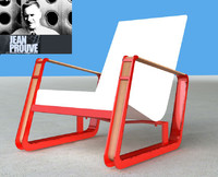 Lounge Chair_Jean Prouve
