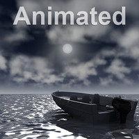 3D Animated Ocean Scene Night.zip