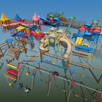 playground vol 1 swingsets 3d 3ds