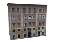 classic european apartments 3d model