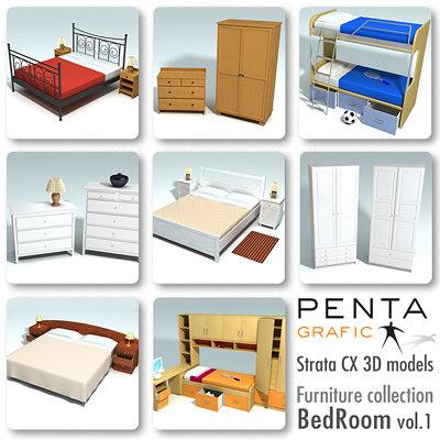 BedRoom Furniture vol.1