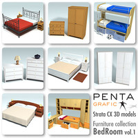 strata beds furniture vol 1 3d 3ds
