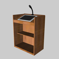 lecture stand.c4d