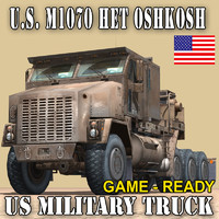 US MILITARY TRUCK–OSHKOSH M1070 HETS