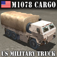 US.CARGO TRUCK M1078  LMTV Cover