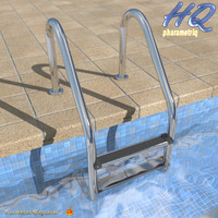 3ds max pool ladder 00